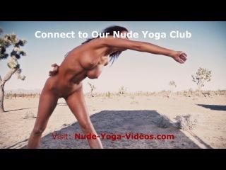 Nude yoga beginner simplified