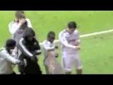 Футболисты танцуют под  Michel Telo – Ai Se Eu Te Pego)))
