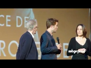 Cosmopolis premiere in Paris