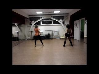 Елена Шатова и Алена Калинина/ Strip dance/ C.Aguilera -Not myself tonight