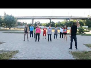 Приглашение на репетиции флэшмоба «FM 64: Мы можем всё!». Учим движения!
