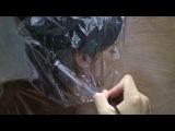 видео, на котором запечатлен процесс рисования одной из картин