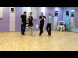 Artem Nekrasov studio - cha-cha basic choreografy (bronze level)
