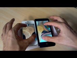 ZOPO ZP300 и iPhone 4S
