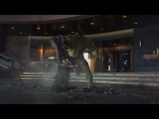 The Avengers - отрывок (Halk)