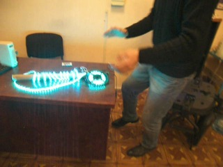 Виктор + Светодиодная лента RGB + Music controller = Два дубки