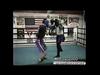 Боксёрский зал шестикратного чемпиона мира Винни Пазиенцы maratproboxing Тренировка по боксу Vinny The P