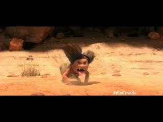 The croods uk tv spot - emma stone, nicolas cage, ryan reynolds (2013) - animated movie