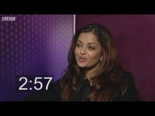 Five Minutes With Aishwarya Rai Bachchan 2010