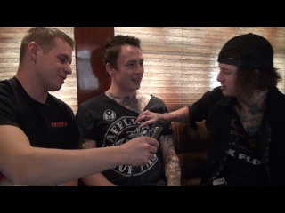 Asking Alexandria - Ben Kisses James - Backstage Entertainment
