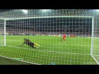 ЛЧ-2011-2012. 1/2 финала. Реал - Бавария (2-1). Серия пенальти (1-3)