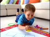 AQUADOODLE Набор для рисования водой – «ВОЛШЕБНЫЕ РИСУНКИ»(AQUA DOODLE) отличная находка для маленького художника.