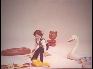 Советская реклама  надувные игрушкие