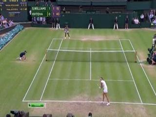 Wimbledon 2012 / 1/4 Финала / Серена Уильямс (США) — Петра Квитова (Чехия)