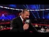[WWE Periview] Triple H vs Brock Lesnar [Extended] (August, 2012)