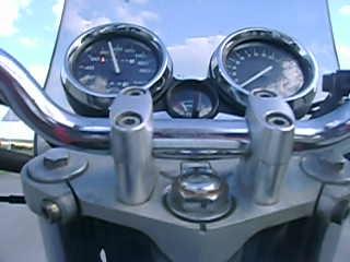 honda CB 400 разгон до 190 км/час