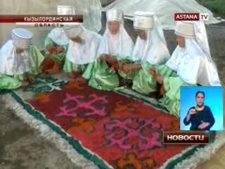 Кызылординский ансамбль «Жан шуакты ажелер» претендует на славу «Бурановских бабушек»