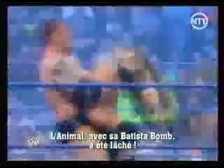 (WWEWM) WWE RAW 04.08.2008 - Cody Rhodes & Ted DiBiase (c) vs. John Cena & Batista (World Tag Team Championship)