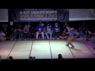 Rinka vs Paradox - BBoy Championships World Finals 2013 - Hip Hop Quarter Finals