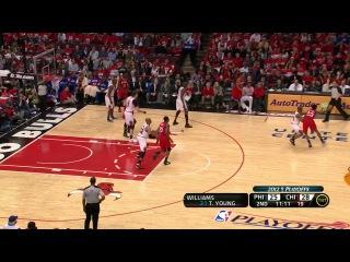NBA Playoffs 2012 / East / 1 Round / Game 2 / 01.05.2012 / Philadelphia 76ers vs Chicago Bulls / Part 1