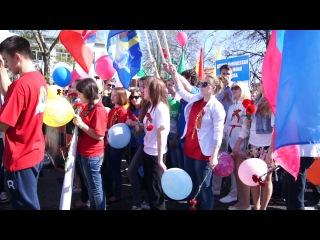 Участие Молодёжного совета в параде на 9 мая