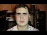 Face motion capture test in Blender