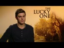 The Lucky One Interview - Zac Efron