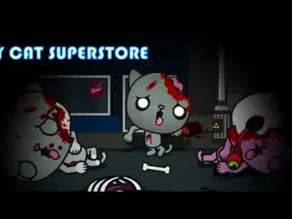 Милый мультик про котиков зомби