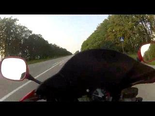 Yamaha R1. Дрогобич-Стрий-Угерсько або Рабей не дружить з головою...