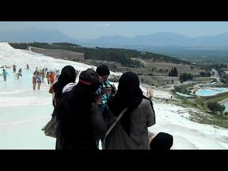 Я в Турции Памуккале 8 ое чудо света