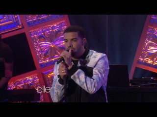 Drake - Hold On, We're Going Home (Live @ The Ellen DeGeneres Show)