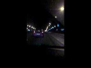 мы с Лялей в три утра на дачу)