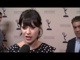 (HD) Zooey Deschanel (New Girl) on first Emmy nom : 2012 Primetime Emmy Nominees Performers Reception #2 - 20 Августа, 2012