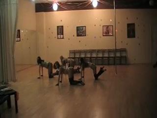 Постановка секси танца к 23 февраля.