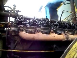 Работа ГРМ трактор К700