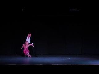 Алена Шоптенко и Дмитрий Дикусар. Танго