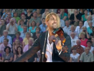 Nirvana David Garrett играет на скрипке композицию (Smells Like Teen Spirit