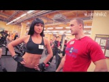 Светлана Ерегина. Тренировка мышц спины