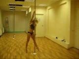 Erodance Studio - Pole Dance. Ольга Кода - Танец с шестом.