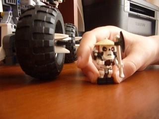 лего ниндзяго грузовик череп 2