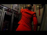 Стюардесса на станции. By Timur Solomnishvili