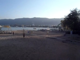 реальное состояние набережной и пляжей Геленджика на 9.07.2012