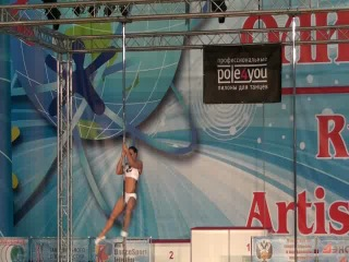 Анжела Кулагина ORTO 2012 Pole Acrobatic