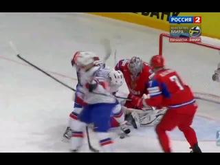 Россия 4 - 0 Норвегия/ хоккей. Олимпиада 2014