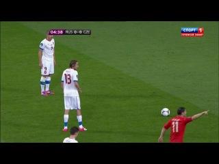 Euro-2012 / Россия - Чехия (1-й тайм) (08.06.2012)