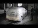 Технология мойки автомобилей активной пеной на matrixplus