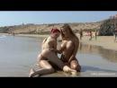 секси на общественном пляже Ariel and Chikita Beach Scenes 2