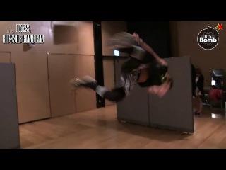 [RUS SUB] BANGTAN BOMB: Jimin's Tumbling Skill