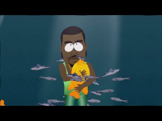 (South Park) Kanye West - Gay Fish (Rus) Кени Вест - Гей рыба