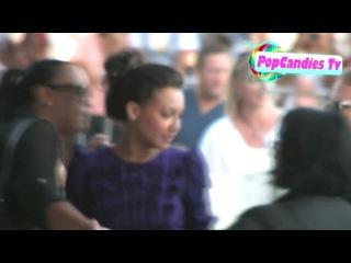 Ная, Никэйла и Иоланда  на премьере Glee The 3D Concert Movie в Лос-Анджелесе, 6 августа 2011